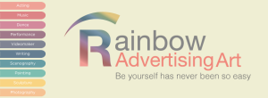 Rainbow Advertising Art apre le iscrizioni @ http://www.rainbowadvertisingart.com