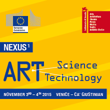 NEXUS1.CREATION AT THE NEXUS OF SCIENCE TECHNOLOGY AND ART.A dialogue of Art with Science and Technology @ Ca' Giustinian, Sala delle Colonne | Chioggia | Veneto | Italia
