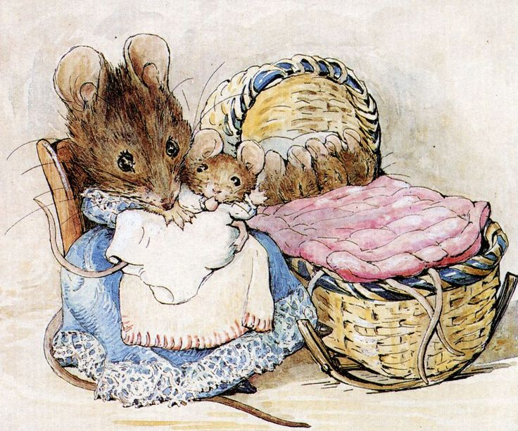 Beatrix Potter, Storia dei due Topini Cattivi (1904)