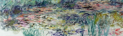 Claude Monet, Ninfee, 1917-19, olio su tela. Parigi, Museo Marmottan Monet (copyright Bridgeman-Giraudon press)